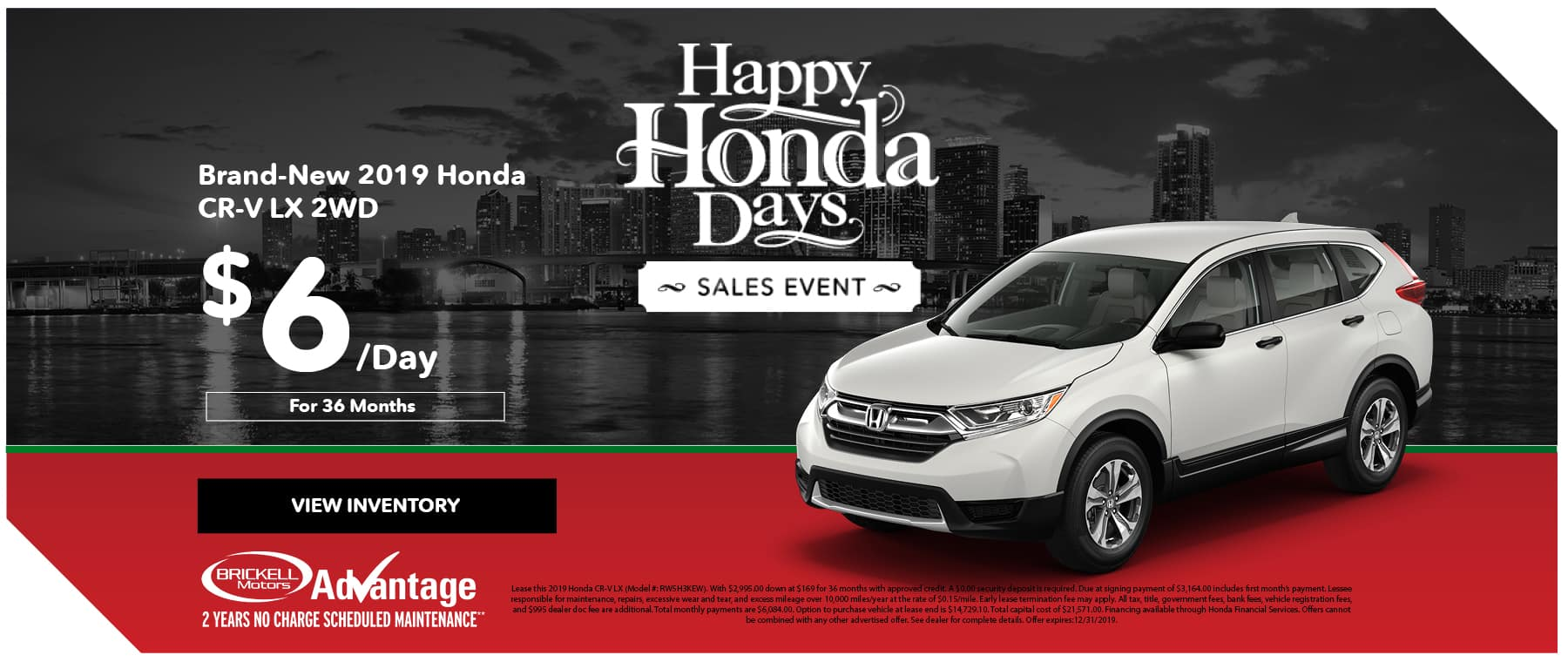 Happy Honda Days CR-V at Brickell Honda