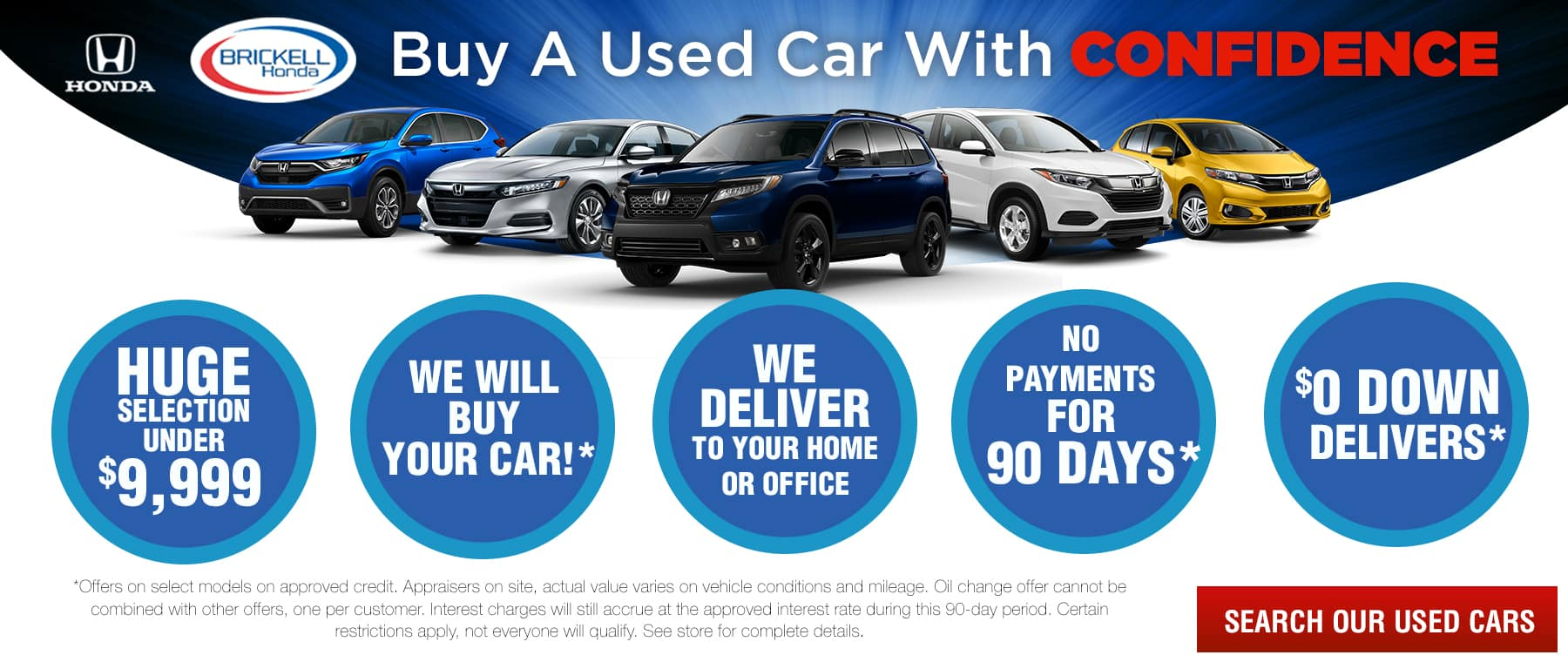Why Buy Used Cars at Brickell Honda