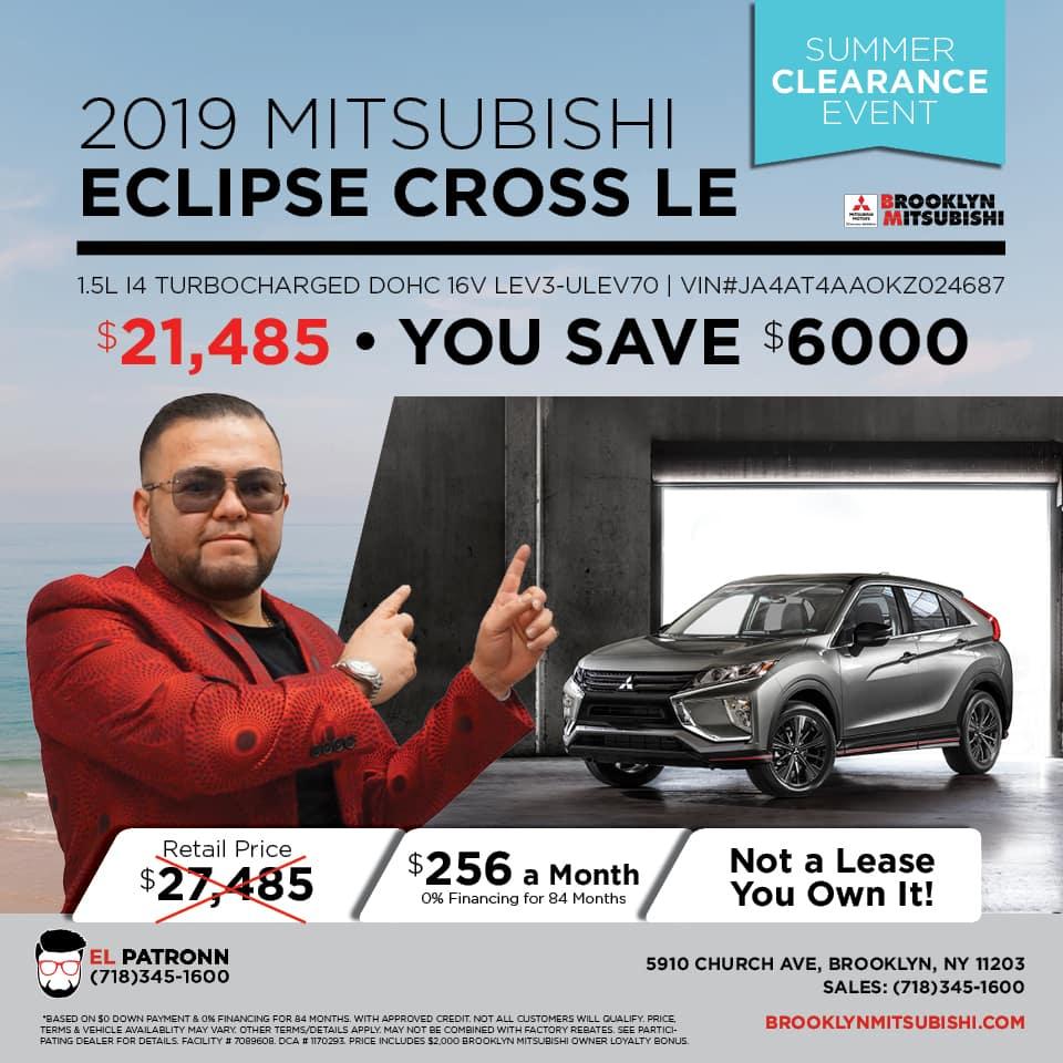 New 2019 Mitsubishi Eclipse Cross LE 4WD