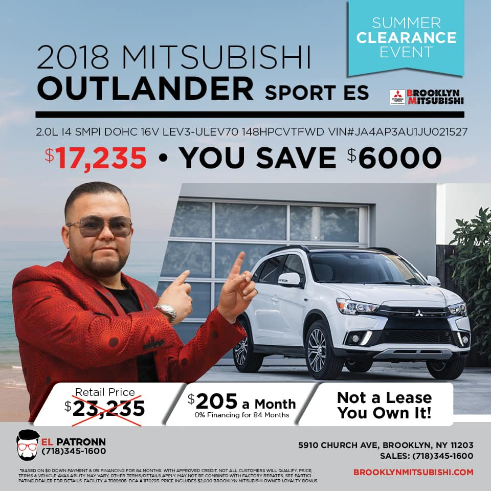 Mitsubishi Outlander Lease Specials
