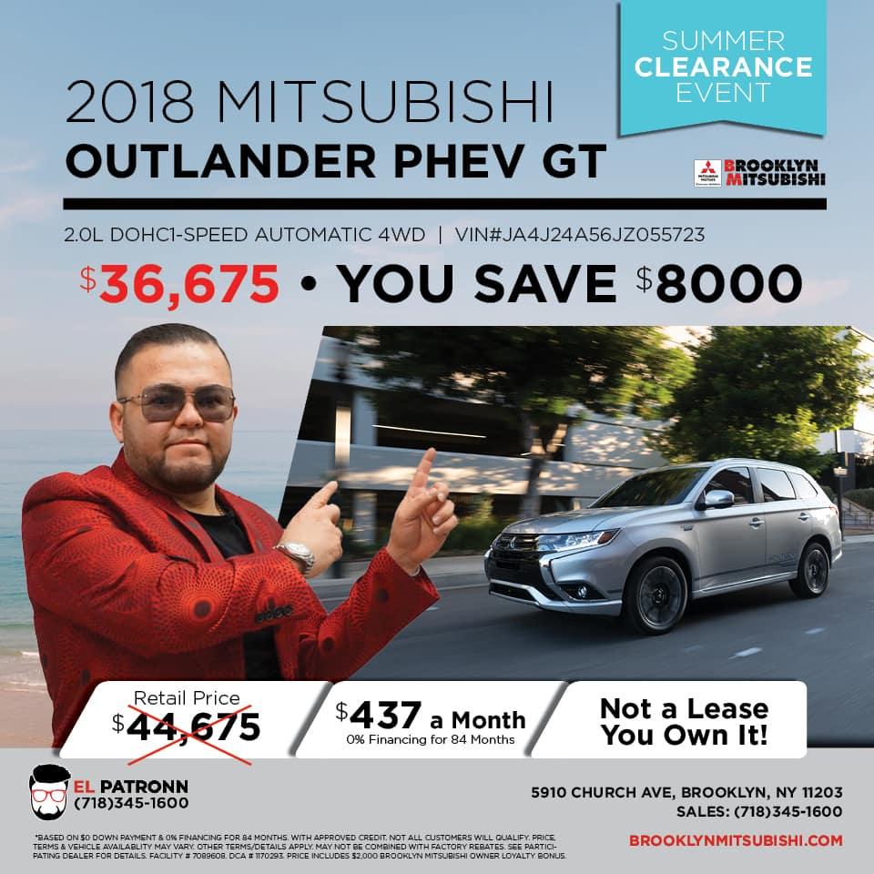 New 2018 Mitsubishi Outlander Outlander PHEV GT