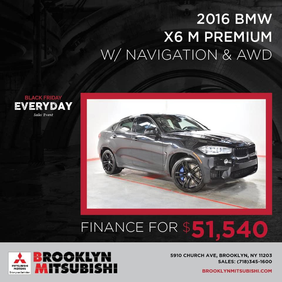 2016 BMW X6 M Premium