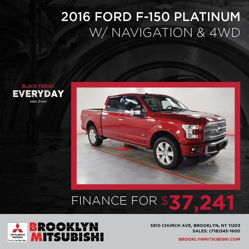 2016 Ford F-150 Platinum 4WD
