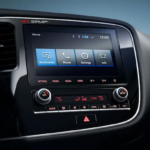 2020 Mitsubishi Outlander dashboard