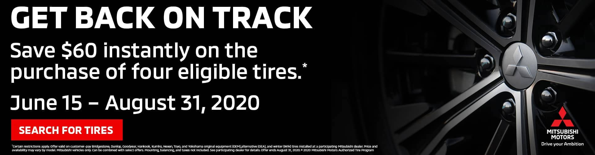 $60 off Tire Event