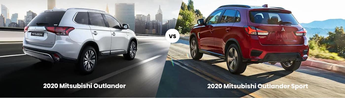 2020 Mitsubishi Outlander vs. 2020 Mitsubishi Outlander Sport