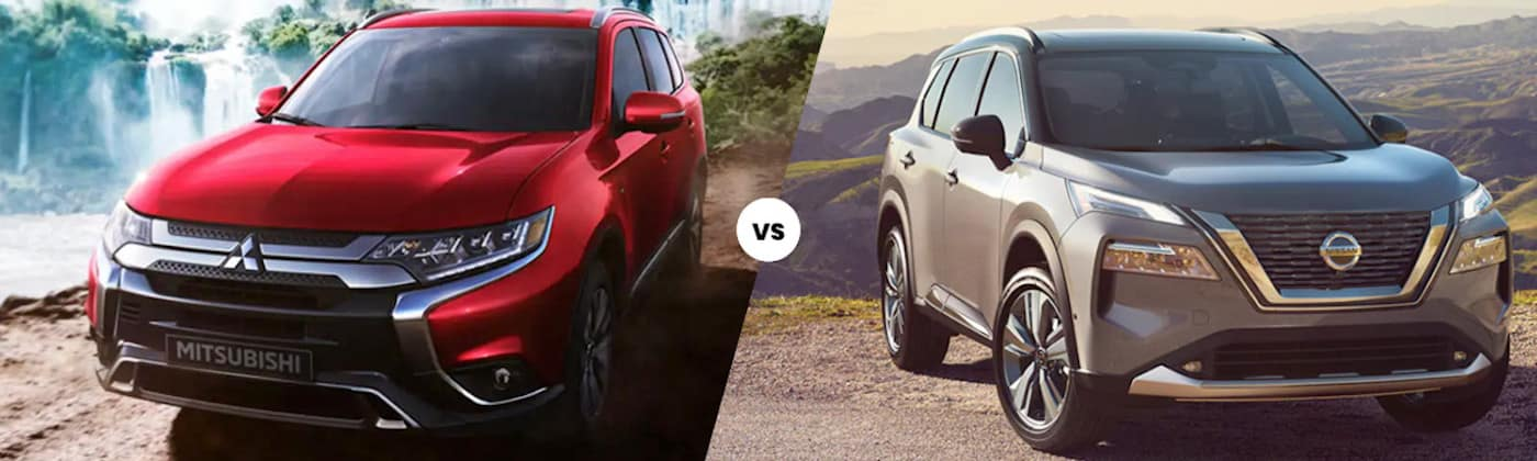 2020 Mitsubishi Outlander vs 2021 Nissan Rogue