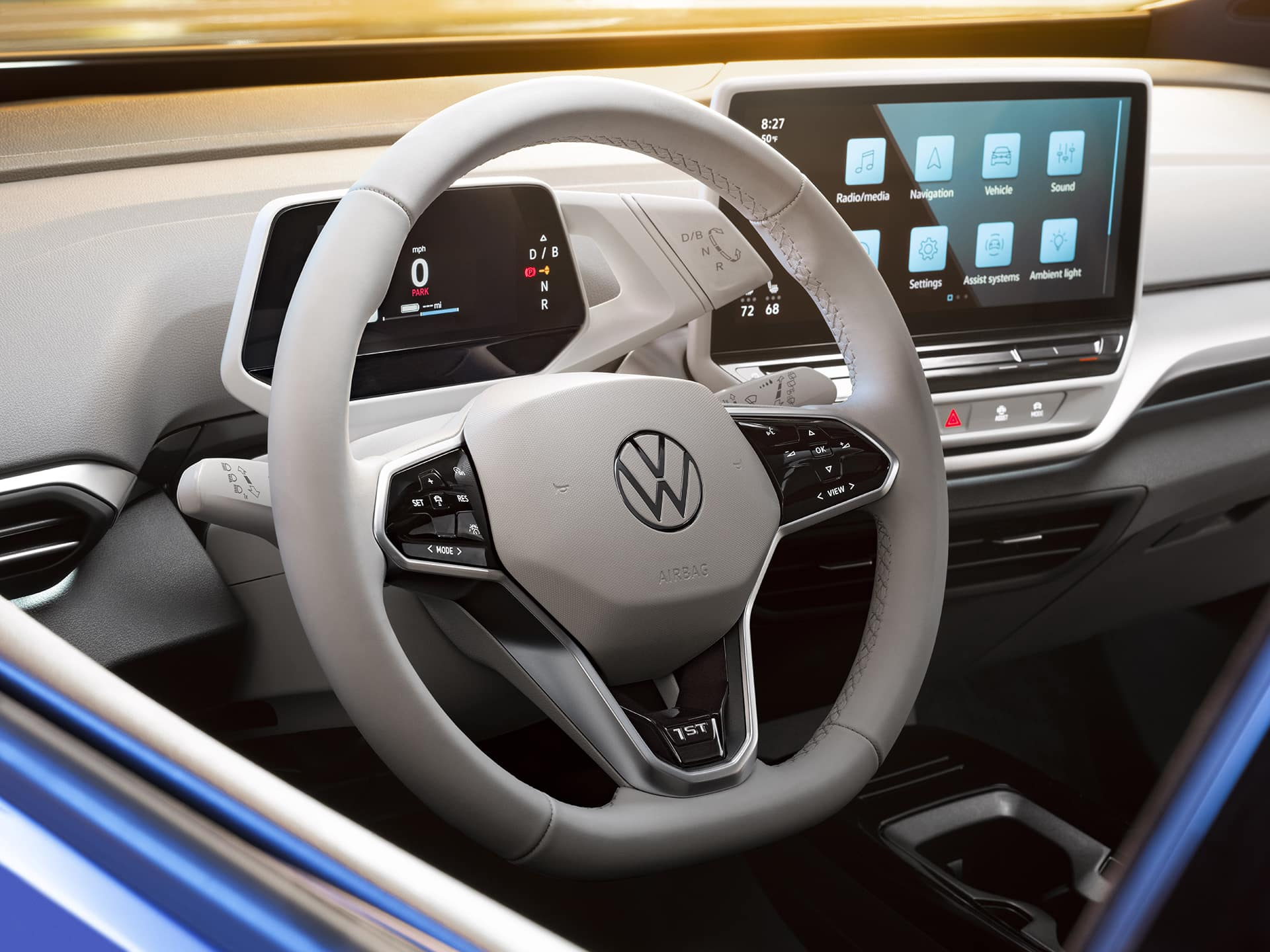 VW ID.4 Steering Wheel Interior
