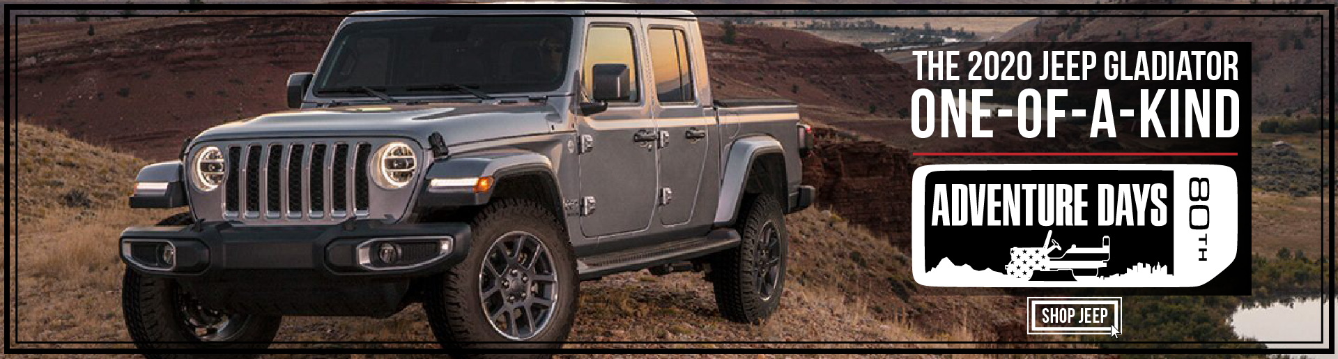 2020 Jeep Gladiator Generic- September 2020
