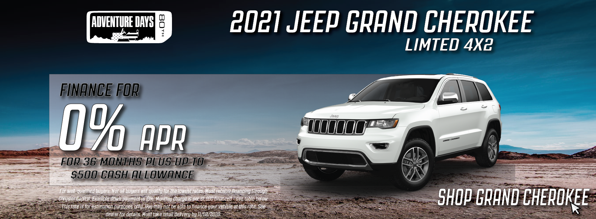 Cullman – Jeep Grand Cherokee October