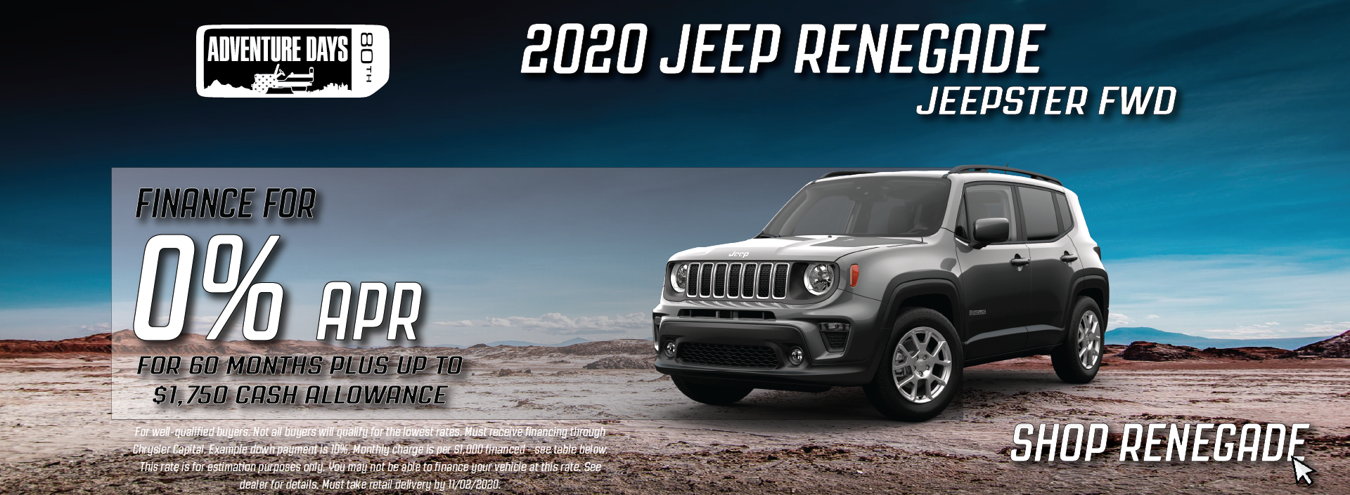Cullman – Jeep Renegade October