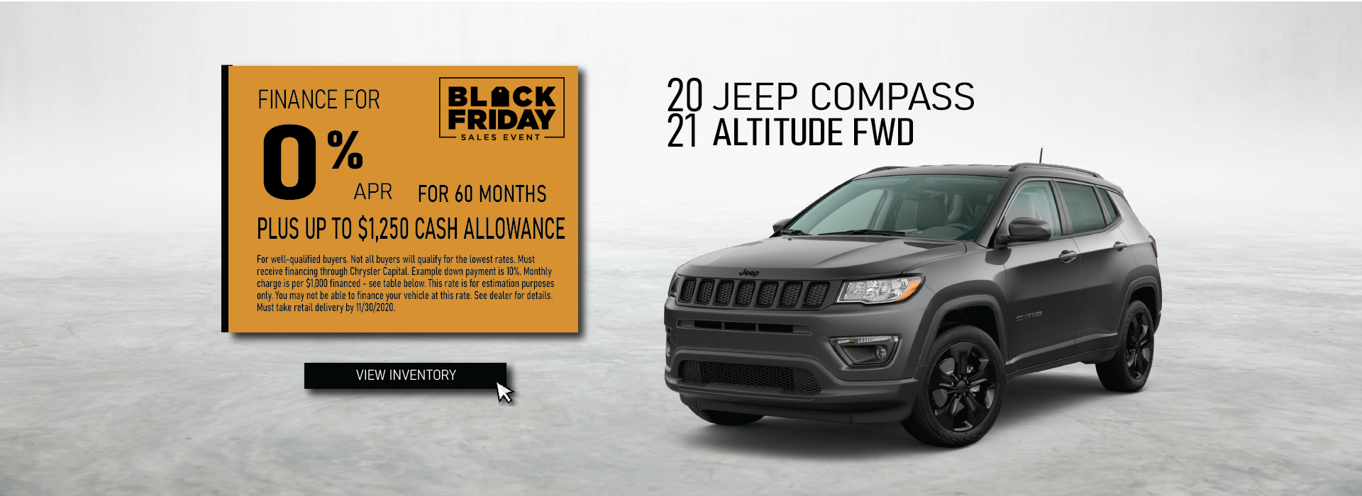 Cullman – Jeep Compass November