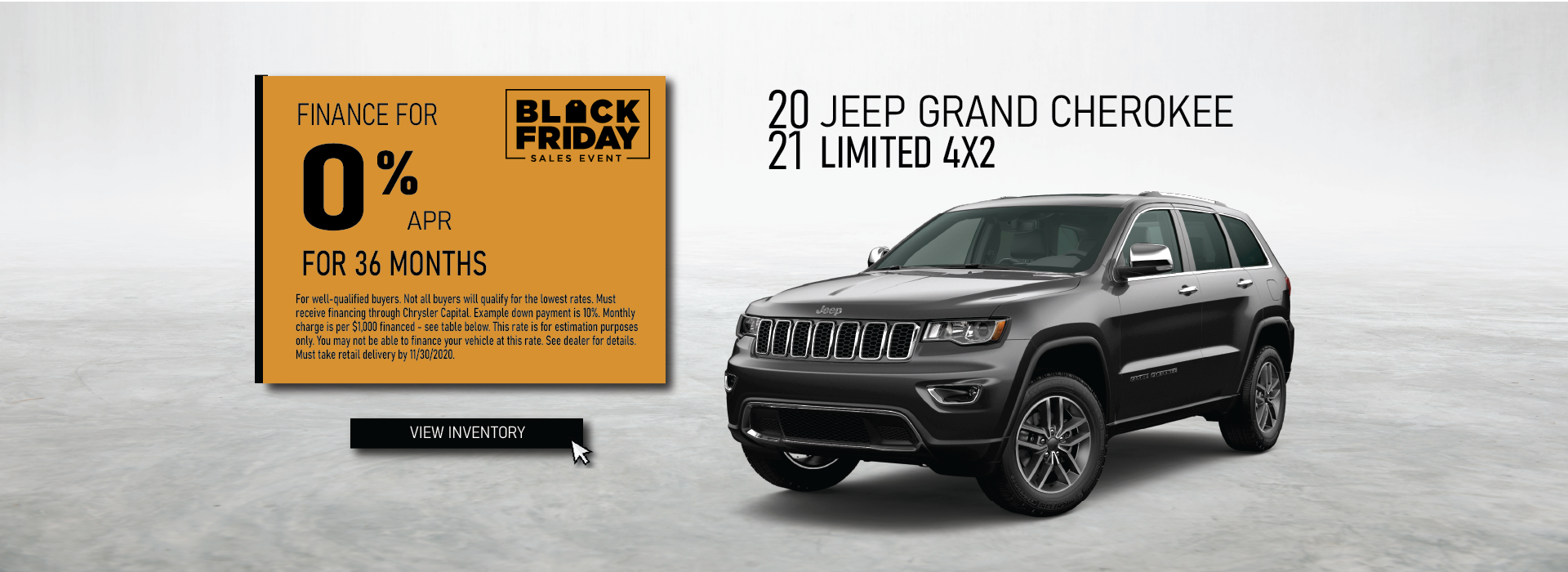 Cullman – Jeep Grand Cherokee November
