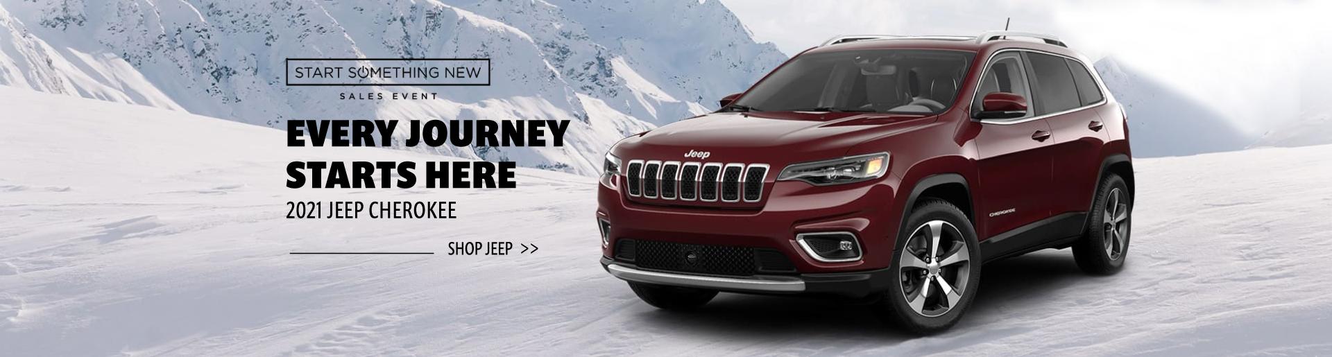 2021 Jeep Cherokee Generic- January 2021