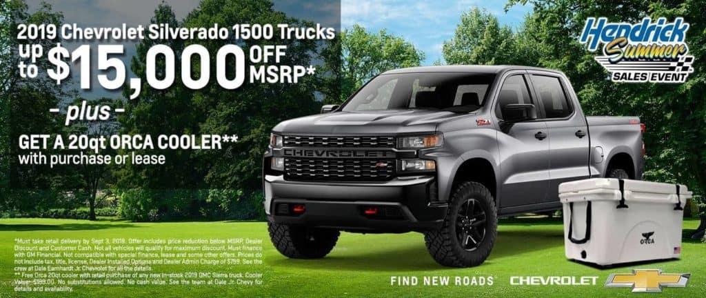 2019 Chevrolet Silverado 1500 Trucks
