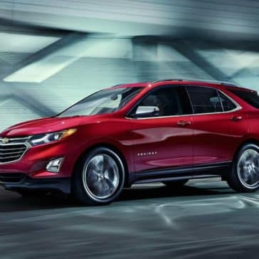 2019 Chevrolet Equinox Driving