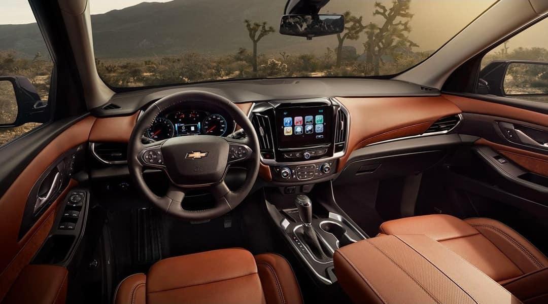 2019 Chevrolet Traverse interior dashboard