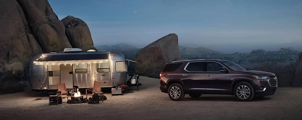 2019 Chevy Traverse Camping