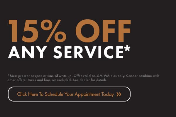 15% Off Any Service