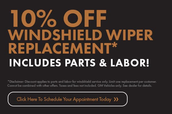 10% Off Windshield Wiper Replacement