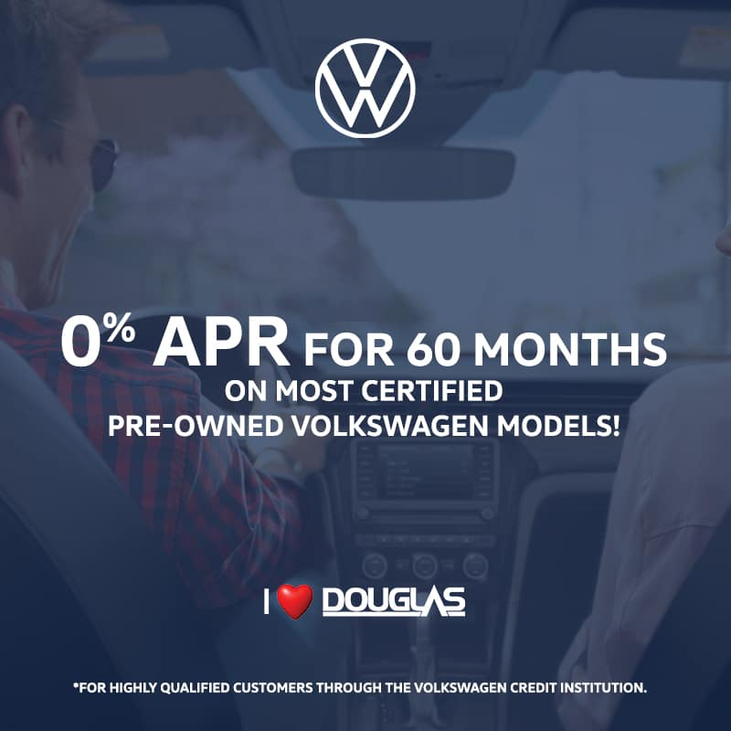 Douglas Volkswagen Exclusive Offers