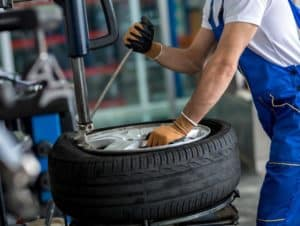 Tire Service at Nissan Dealer New Cumberland PA