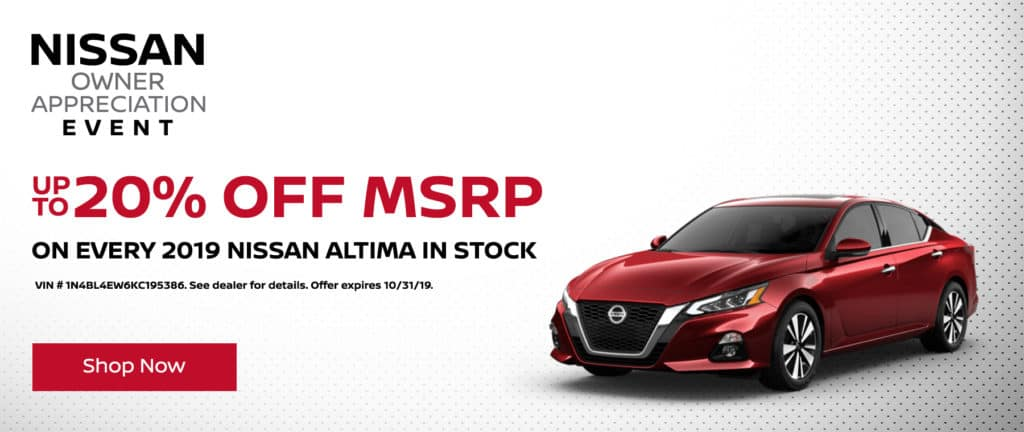 Up to 20% Off MSRP
