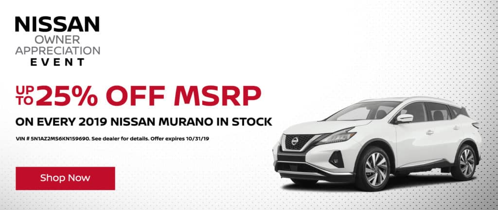 Up to 25% Off MSRP
