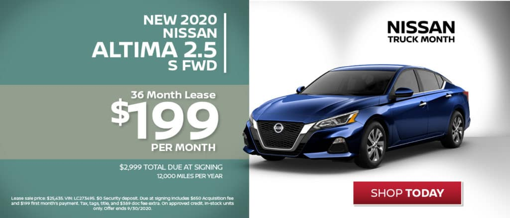 Altima Lease Special!