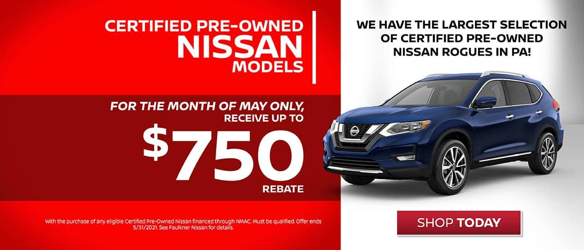 Shop Nissan Certified Pre-Onwed