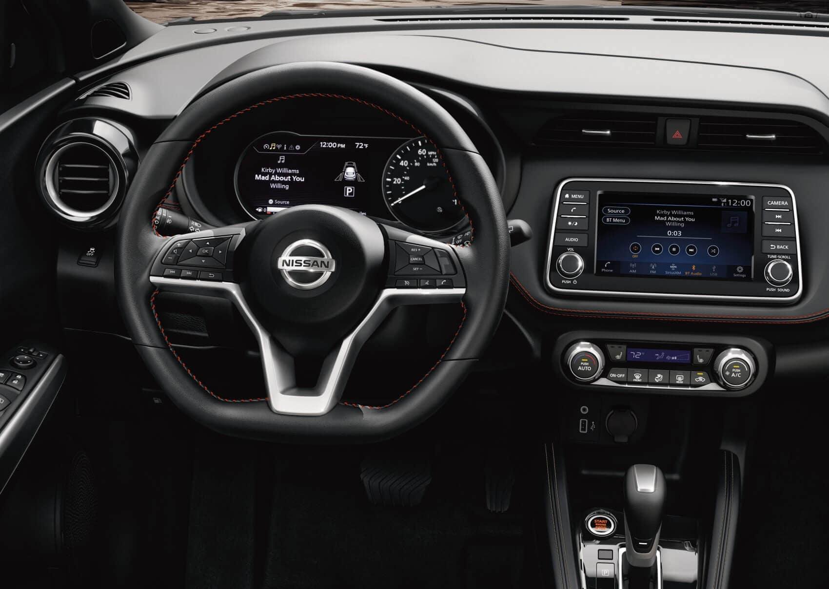 Nissan Kicks vs Honda HR-V Interior