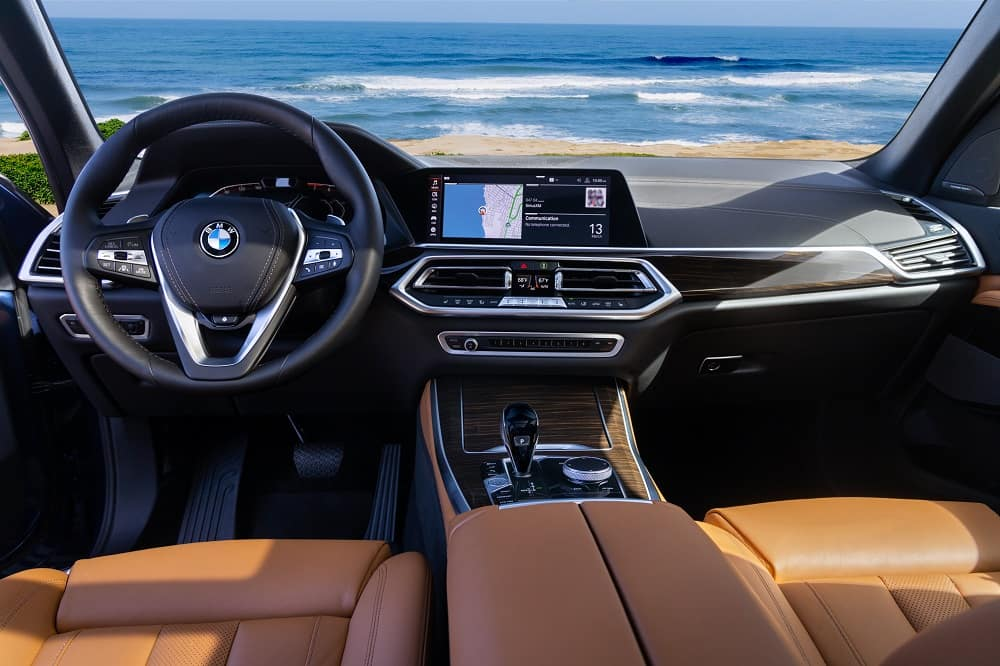 BMW X5 Interior Technology