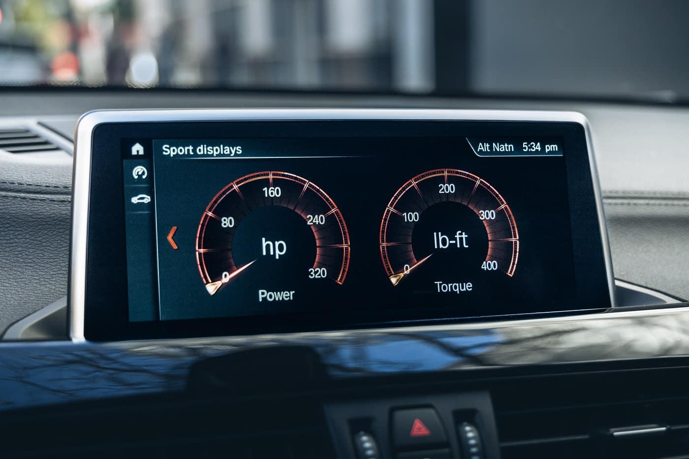 BMW X2 Interior Technology