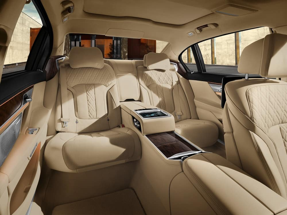 BMW 7 Series Interior Cabin