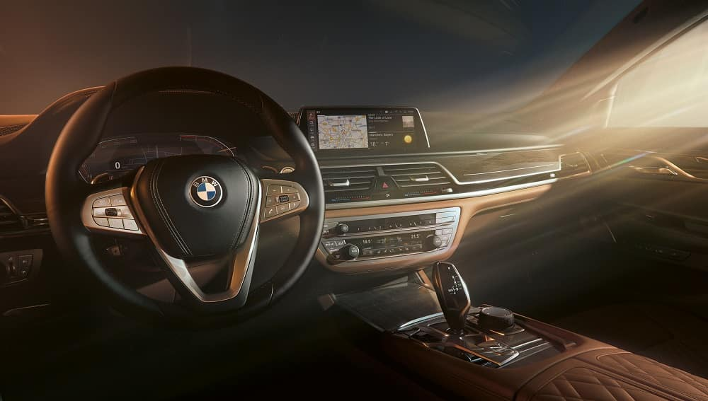 BMW 7 Series Interior Tech