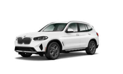 Lease a 2022 BMW X3 xDrive30i for $529/month for 36 months ($4,499 due at signing now through November 1st).