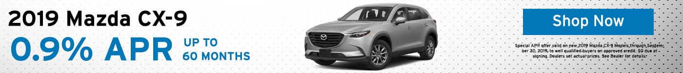 2019 Mazda CX-9 lease special