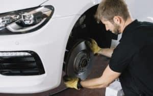 Repairing Car Brakes
