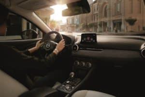 Mazda CX3 interior