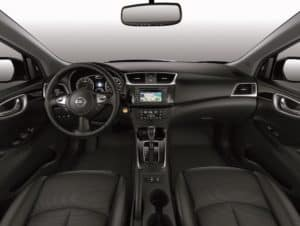 Nissan Sentra Interior review