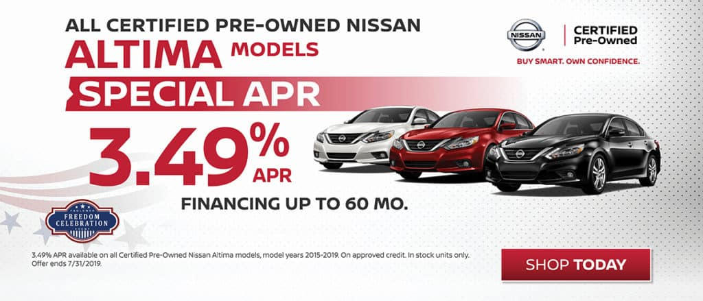 Altima Certified Pre-Owned