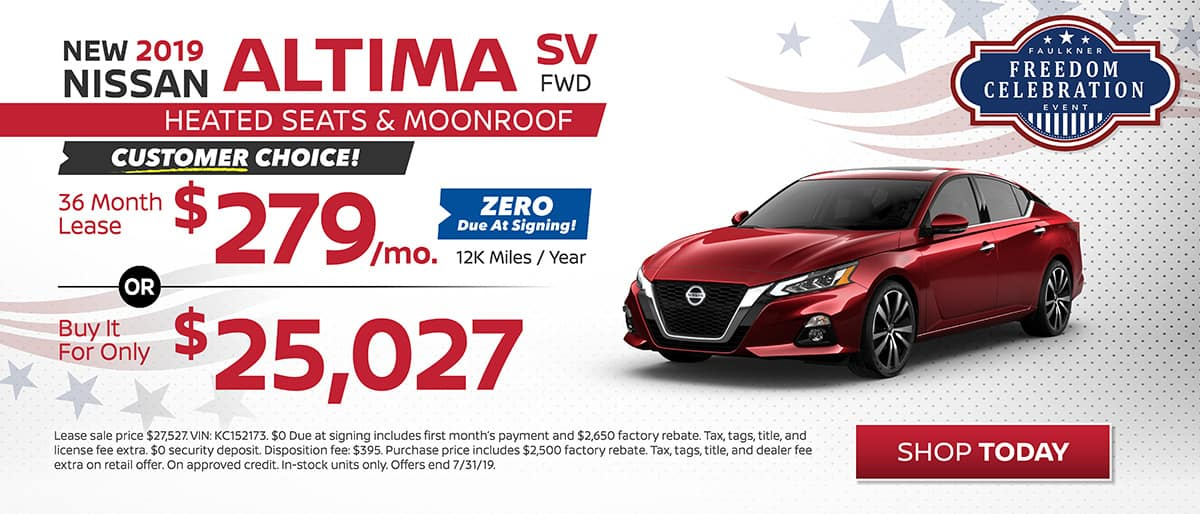 Altima SV Lease or Buy