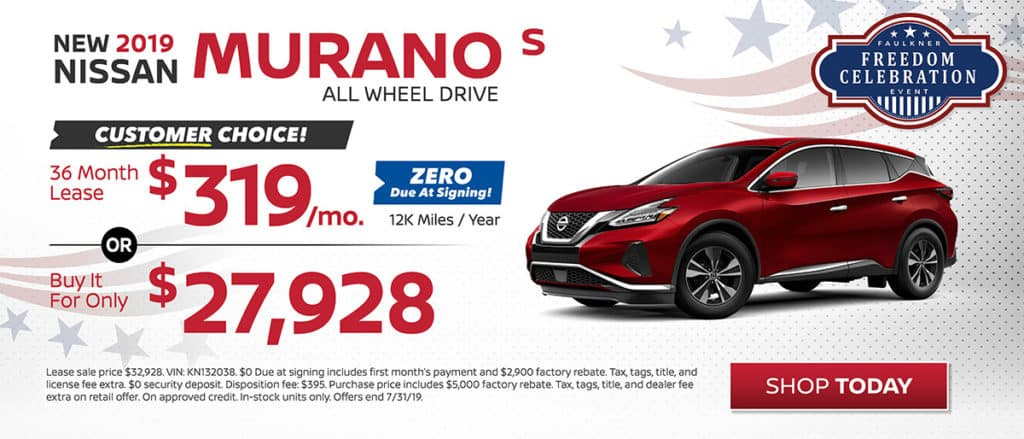 Murano July Offer