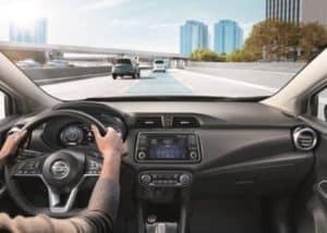 2020 Versa Dashboard Intelligent Cruise Control