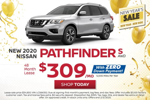 Lease a New Nissan Pathfinder