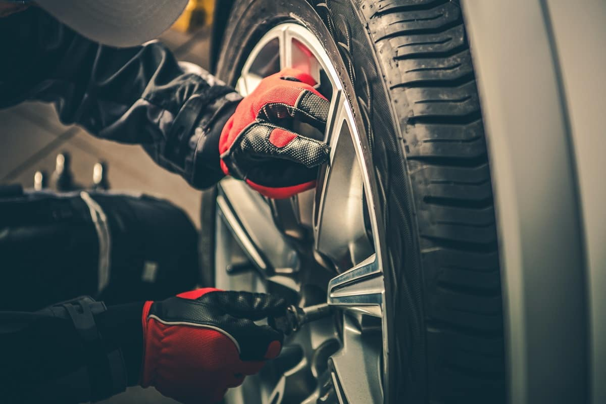 Tire Rotation at Used Car Dealer Warminster PA