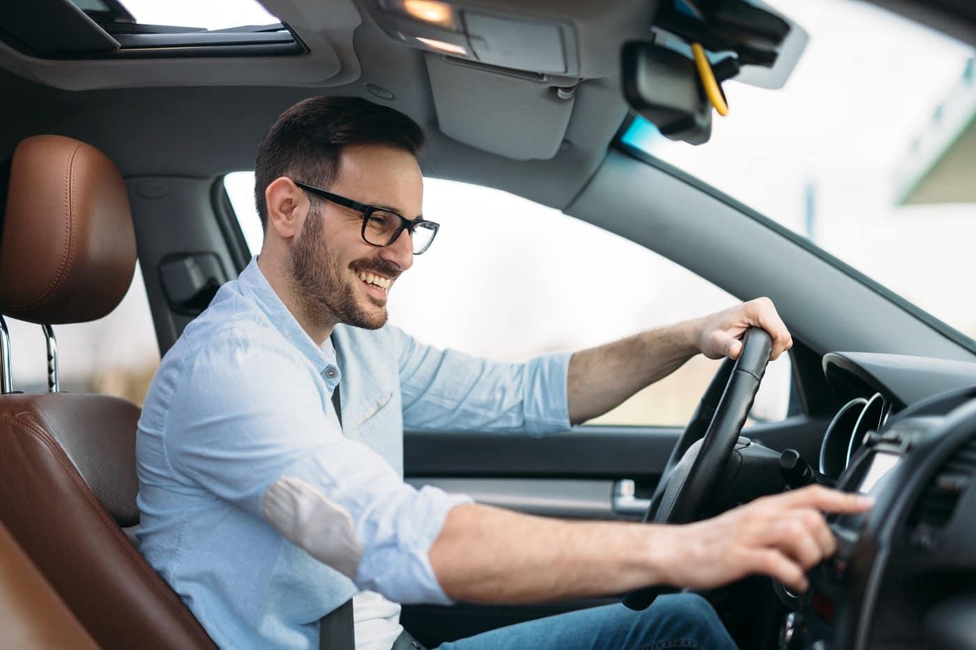 Car Driving posture
