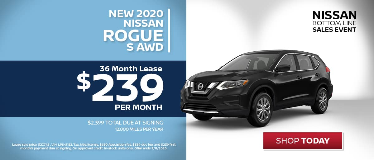 Nissan Rogue Lease
