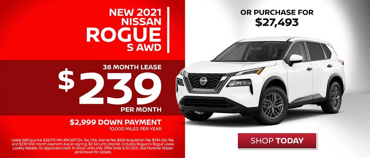 Shop New 2021 Nissan Rogue