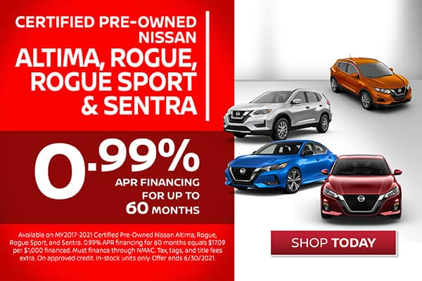 Certified Pre-Owned - 0.99% Financing Available